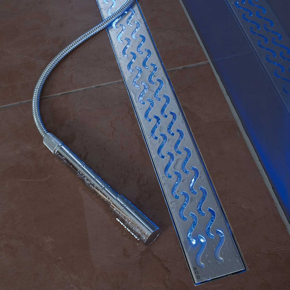 37379 Blue LED Light for Aco Linear Drains