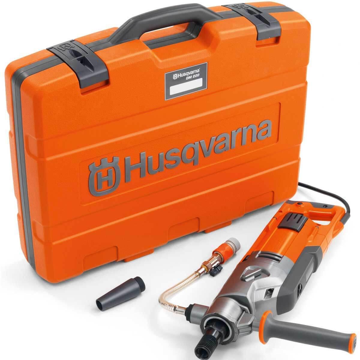 Husqvarna core drill DM220 case