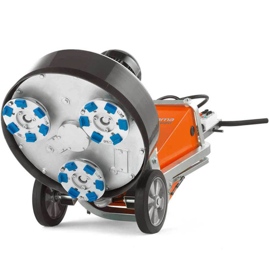 3 disc Grinding Head on Husqvarna PG 680