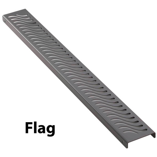 Flag Aco Shower Channels Bronze Finish