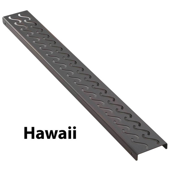 Hawaii Aco Shower Channels Bronze Finish