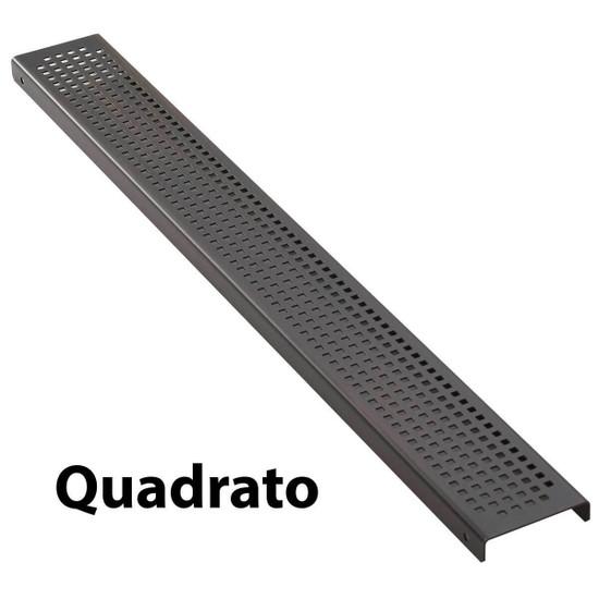 Aco Bronze Linear Drain Quadrato Strainer