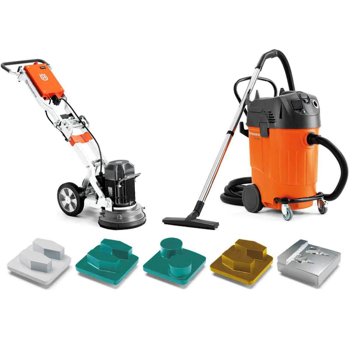Husqvarna PG 280 Grinder vacuum