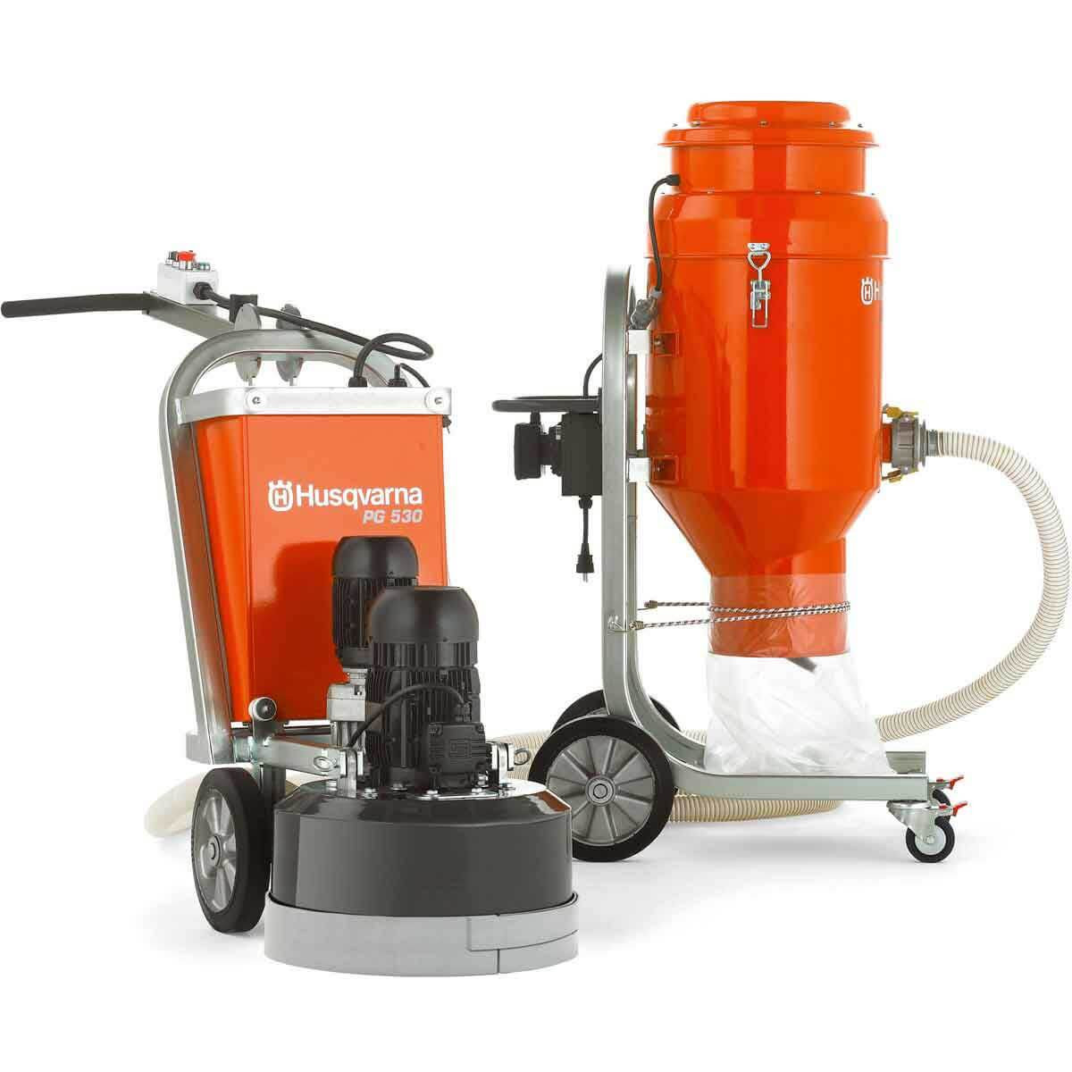 Husqvarna PG 530 grinder vacuum
