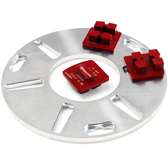 Husqvarna Diamond Plate with G1470 Diamond Segments