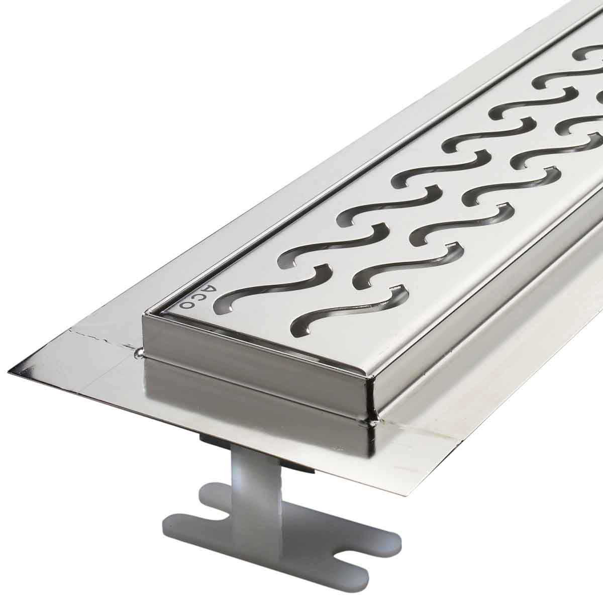 Hawaii ACO Edge Stainless Steel Shower Channel