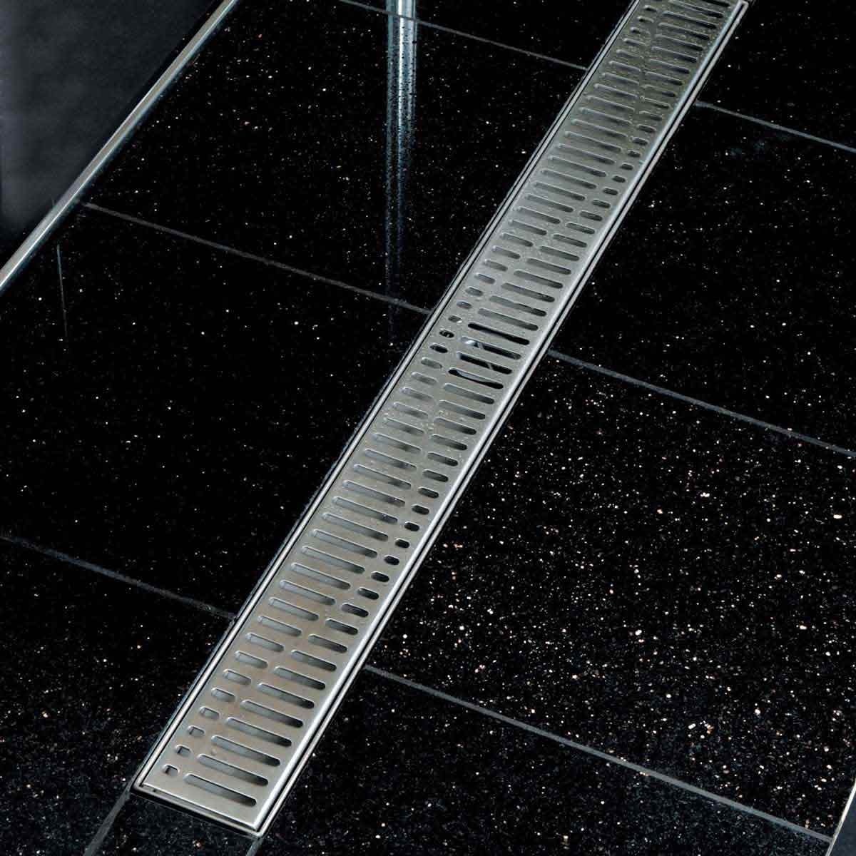 Wave Stainless Steel Shower Grate By ACo