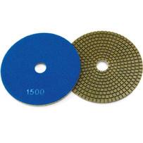 Husqvarna 5 inch P1200 Dry Gloss Resin Bond Diamond Pads