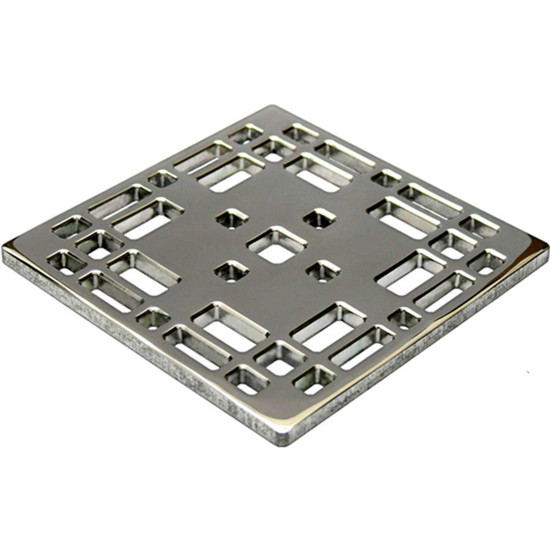 Ebbe Unique Grates Style For Shower Drains Constructed from solid 304 stainless steel these shower grates are built for a lifetime of use and beauty