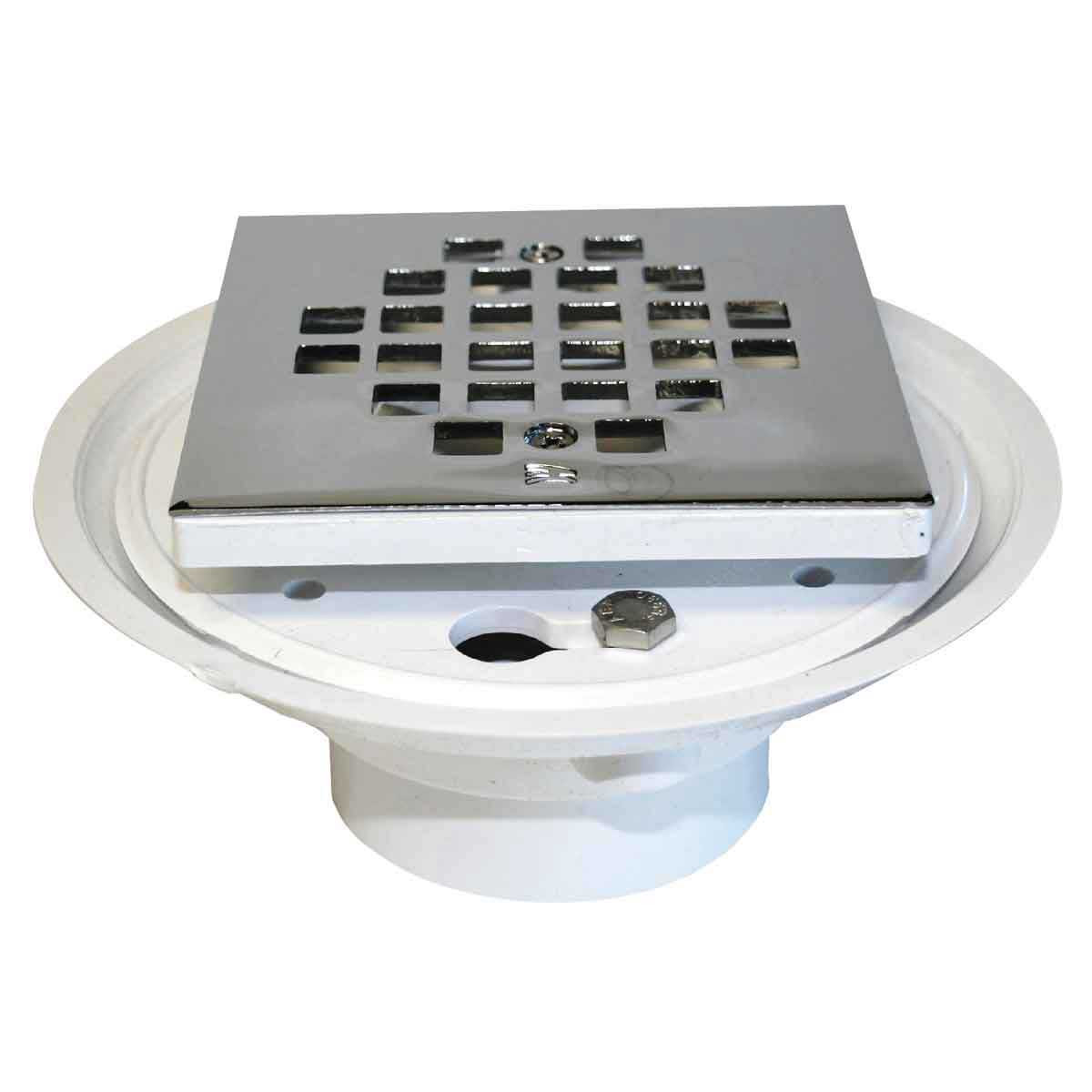 Barwalt pvc low profile shower floor drain contractors direct for Ground drain