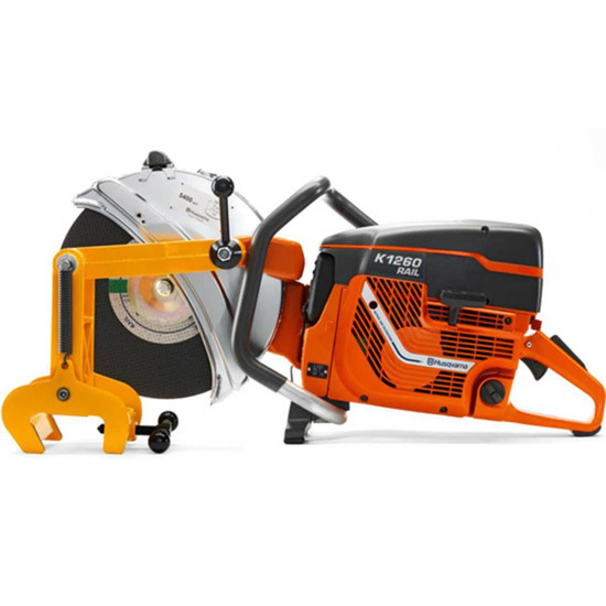 Husqvarna Rail Attachment on K1260 Power Cutter