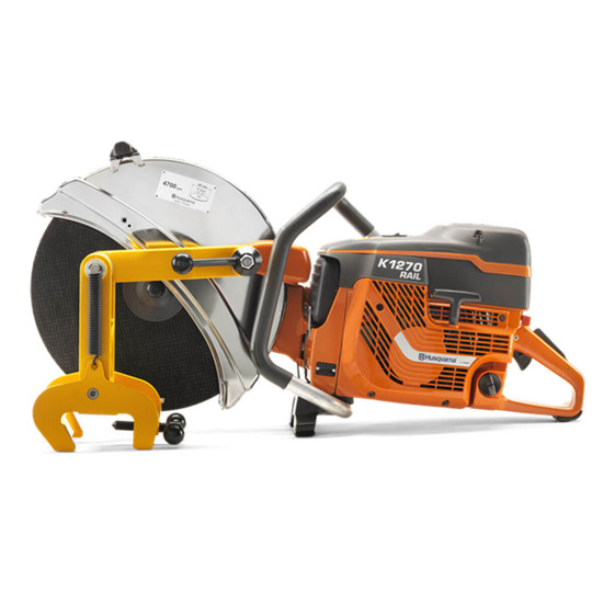 Husqvarna K1260 Rail Saw RA10