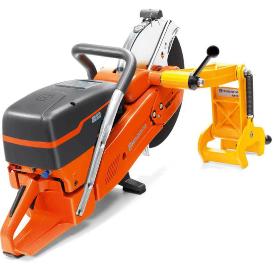 Husqvarna K1270 with Rail Attachment