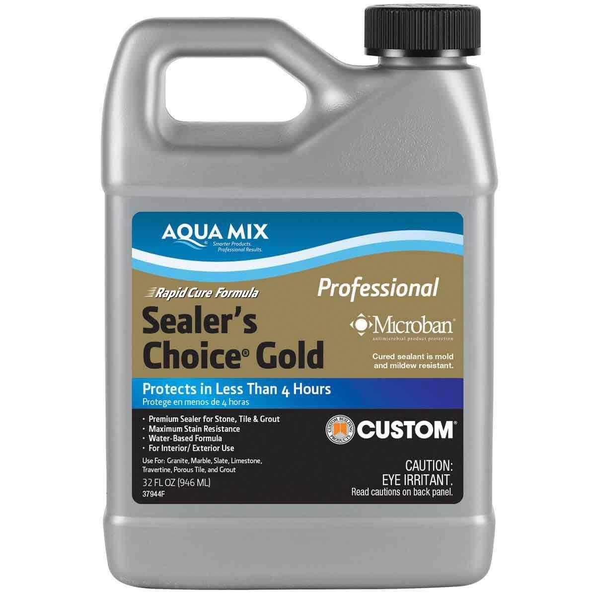 1 Quart Aqua Mix Sealer's Choice Gold Penetrating Sealer 030882-4