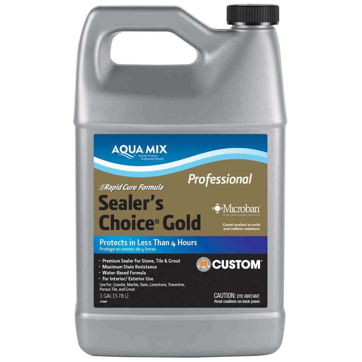 Aqua Mix Sealer's Choice Gold Penetrating Sealer - 1 Gallon