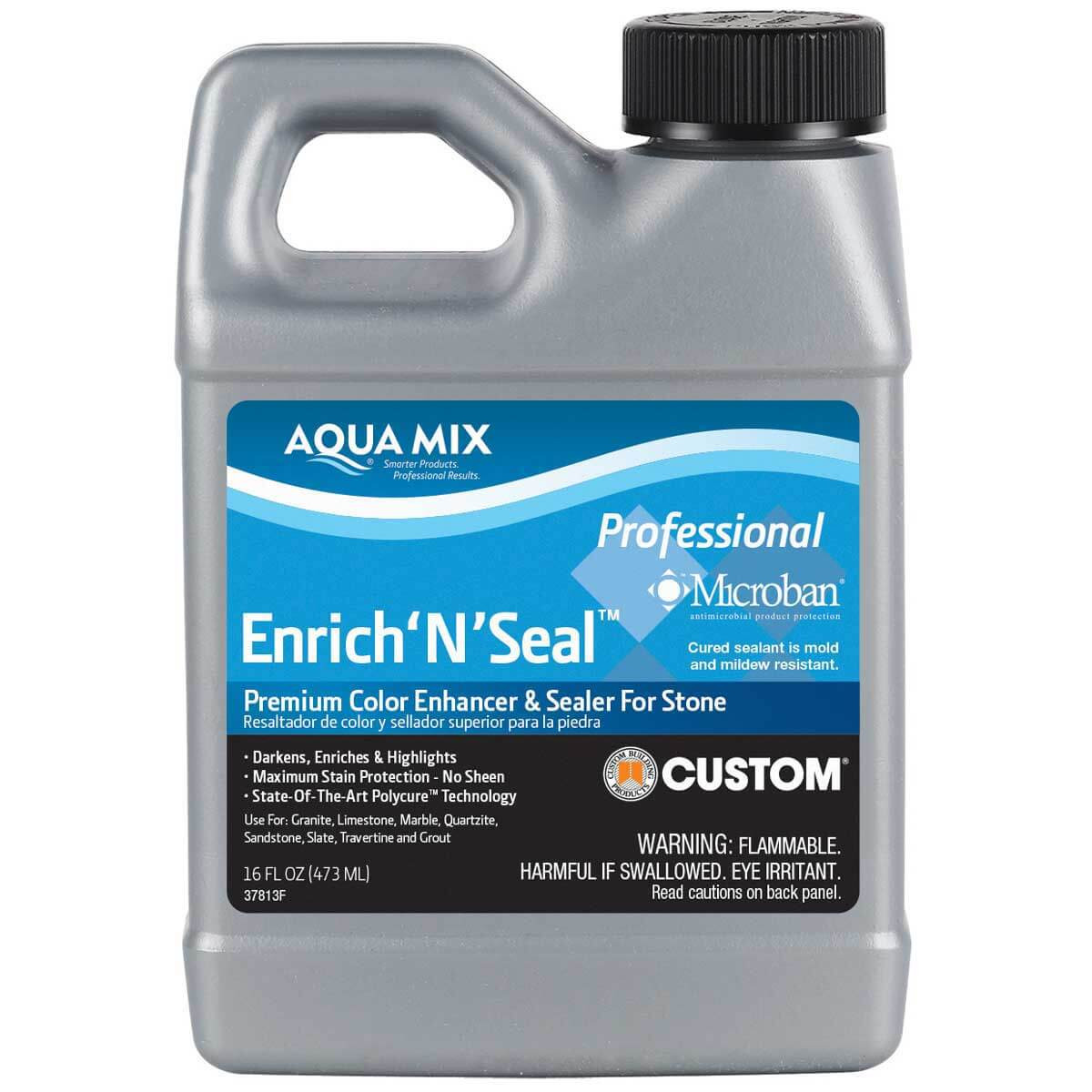 1 Pint Aqua Mix Enrich'N'Seal Penetrating Sealer 100250