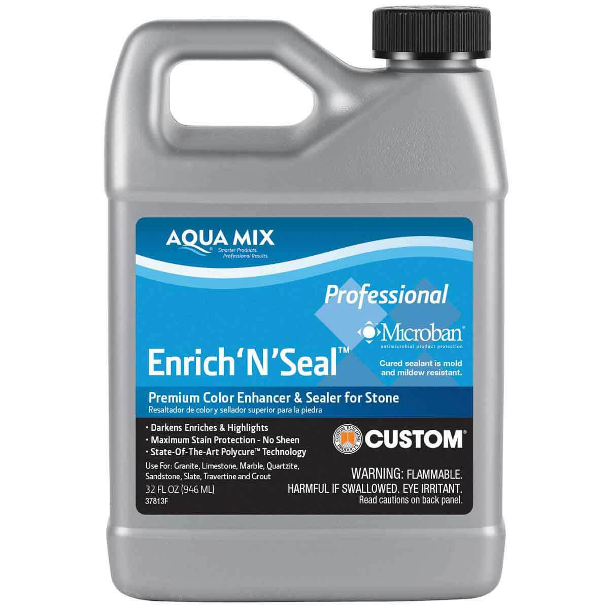 1 Quart Aqua Mix Enrich'N'Seal Penetrating Sealer 100251-4