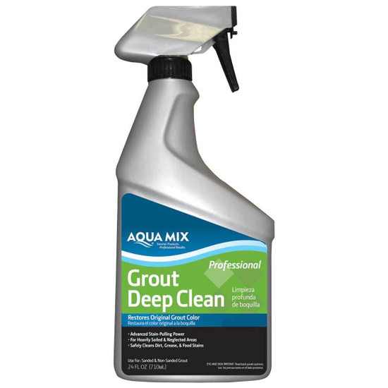 Aqua Mix Grout Deep Clean 24oz Spray Bottle 010530-4
