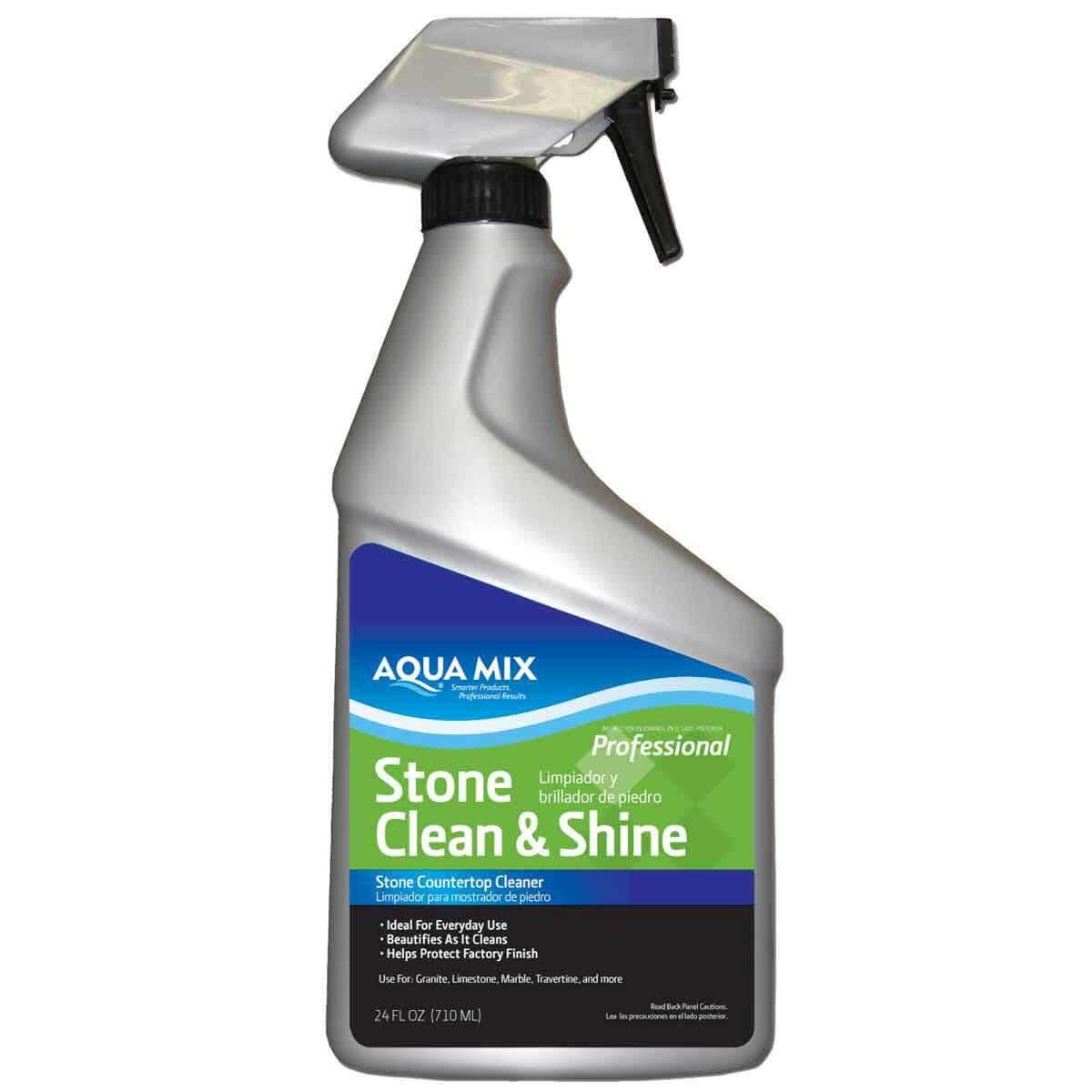 Aqua Mix Stone Clean & Shine 24oz Spray Bottle 030151-4