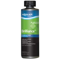Aqua Mix Brilliance Stone Countertop Polish 8oz C100291