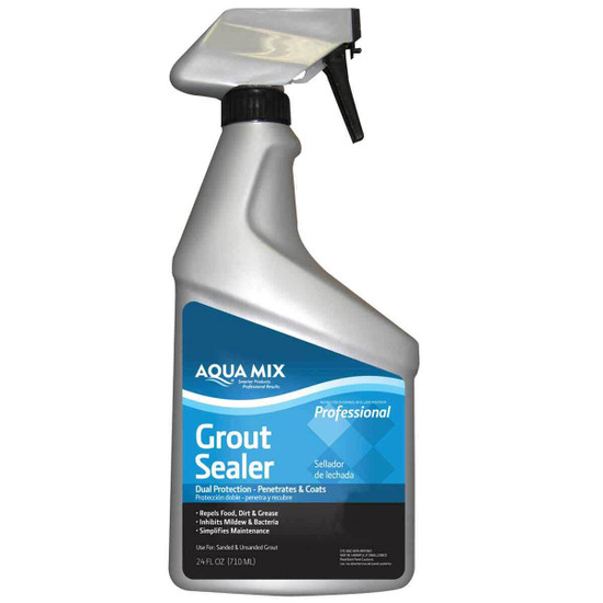 Aqua Mix Grout Sealer - 24 oz. Spray Bottle
