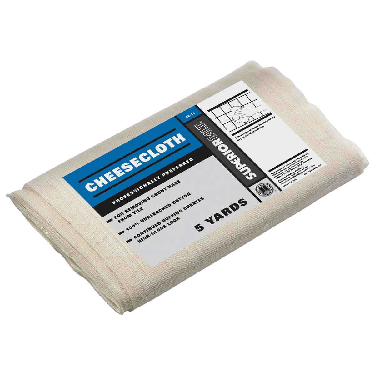 SuperiorBilt Cheesecloth, 5 Yards