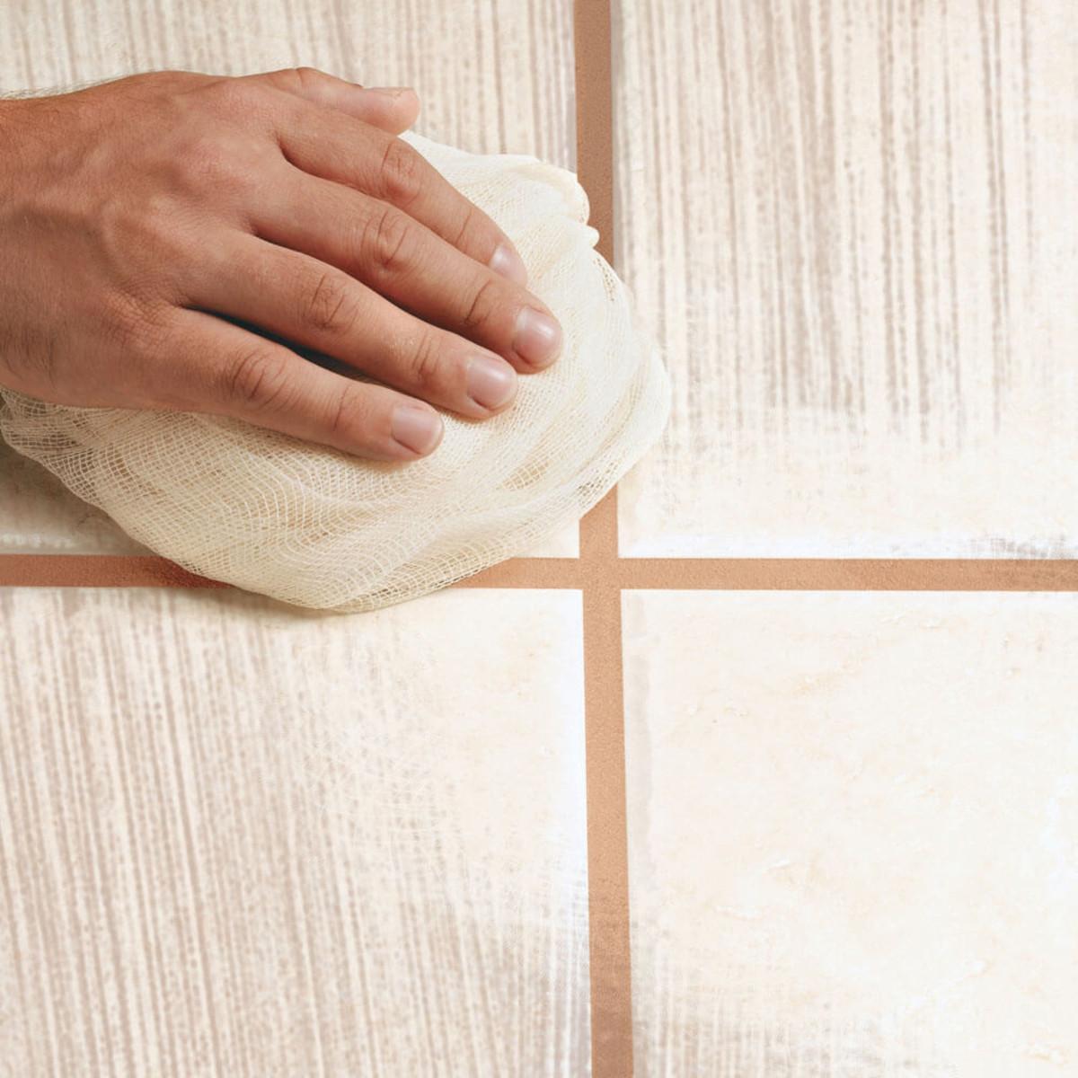 Polishing Cheesecloth ceramic tile