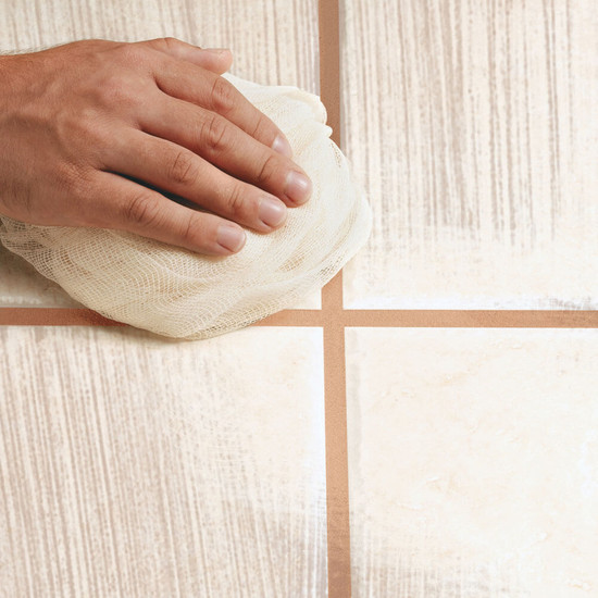 Polishing Cheesecloth ceramic tile
