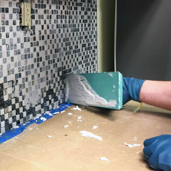 Superior Epoxy Grout Float In Use