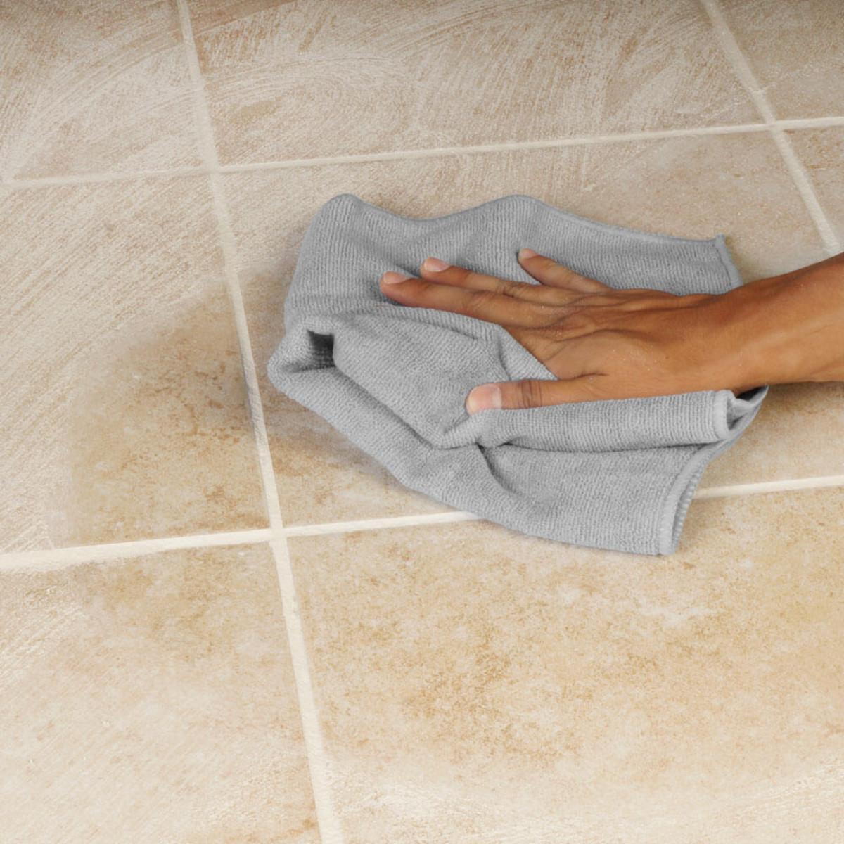 Grout haze Clean Microfiber Towel