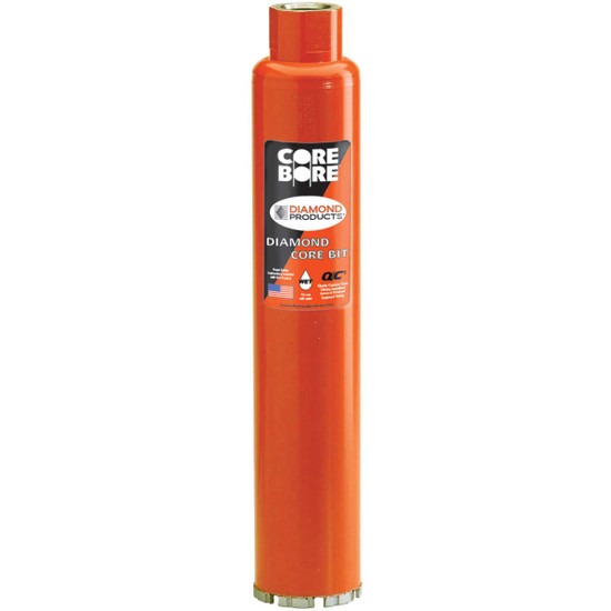 Core Bore Heavy Duty Orange Turbo Core Bits