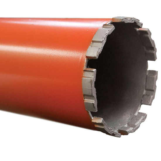 Orange Turbo Wet Diamond Core Bits Core Bore
