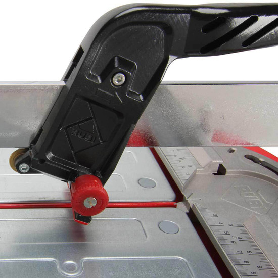 rubi tile cutter handle closeup
