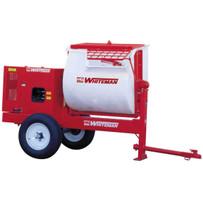 Mortar Mixer with Hydraulic Dump