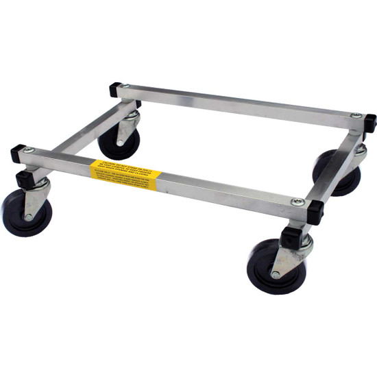 0428FD Racatac Folding Aluminum Tile, Bucket & Material Dolly