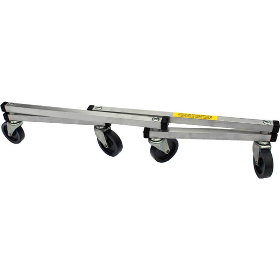 "Racatac 12""X18"" Folding Aluminum Dolly"
