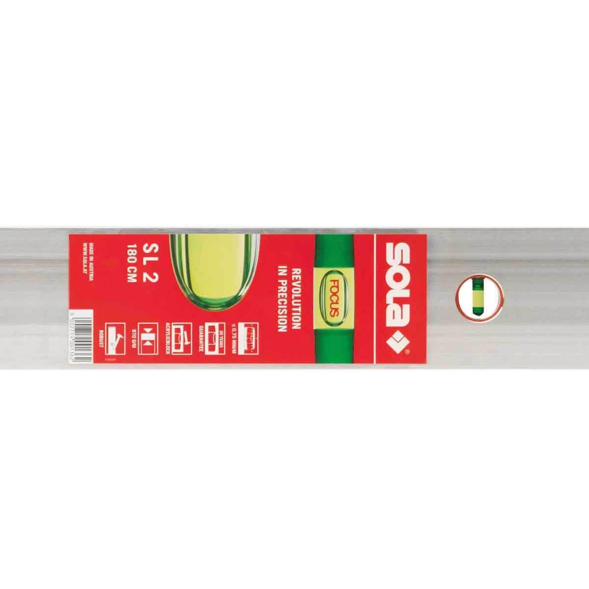 78 inch SLG2200 Sola Aluminum Screeding Level