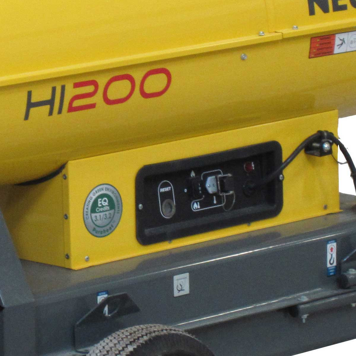 5200011877 Wacker HI 200D Portable Air Heater
