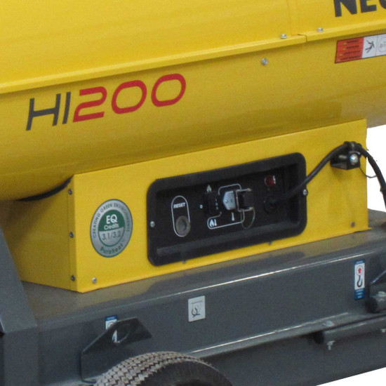 Wacker Neuson HI 200D Indirect Fire Air Heater