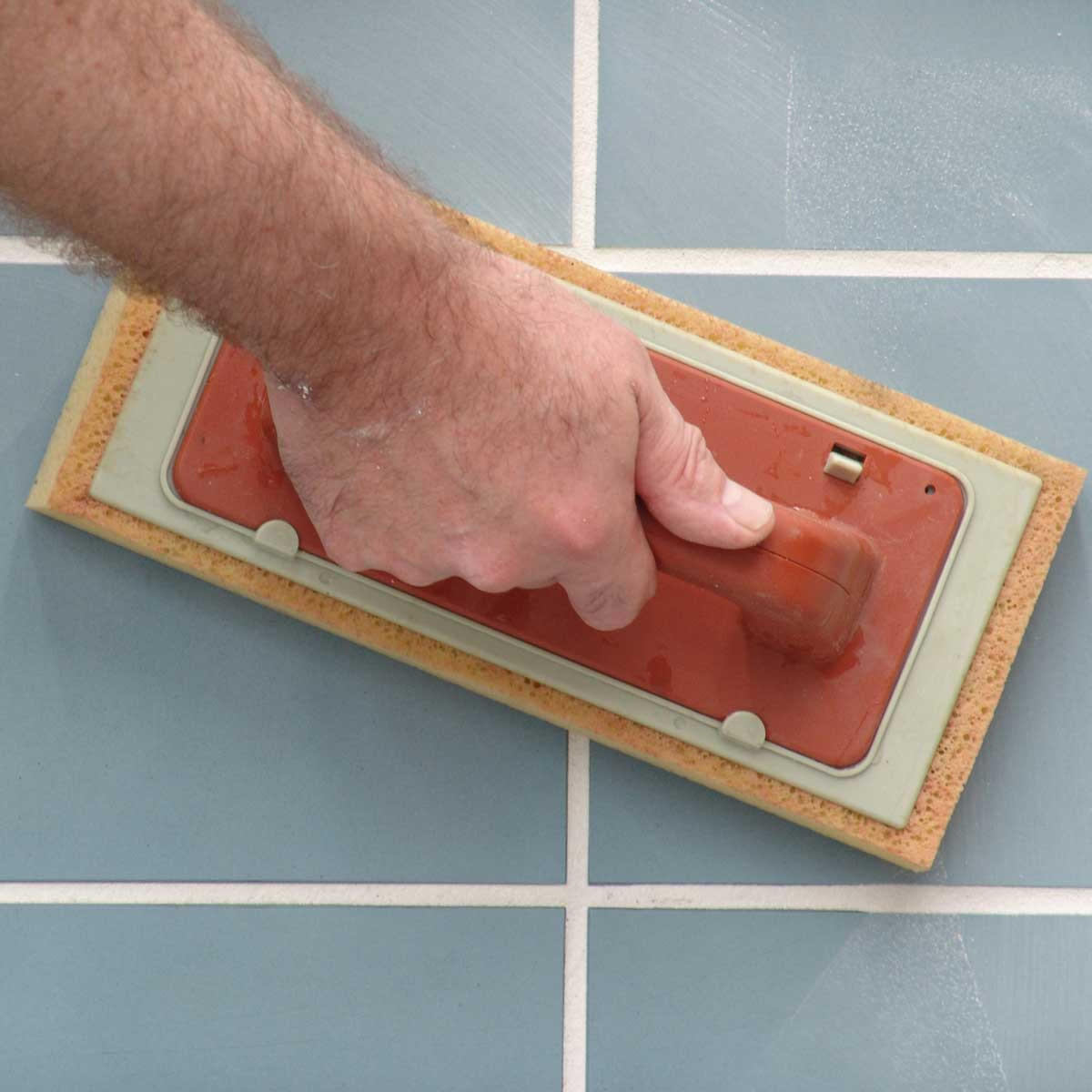 Raimondi Easy Grout swipe tile