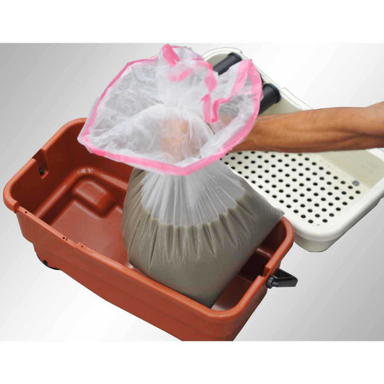 Raimondi Roll grout Bag disposal