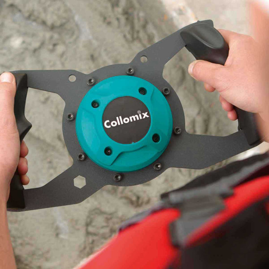 Collomix Xo6 2 speed power pack for the demanding professional and difficult mixing jobs as well as for permanent site use