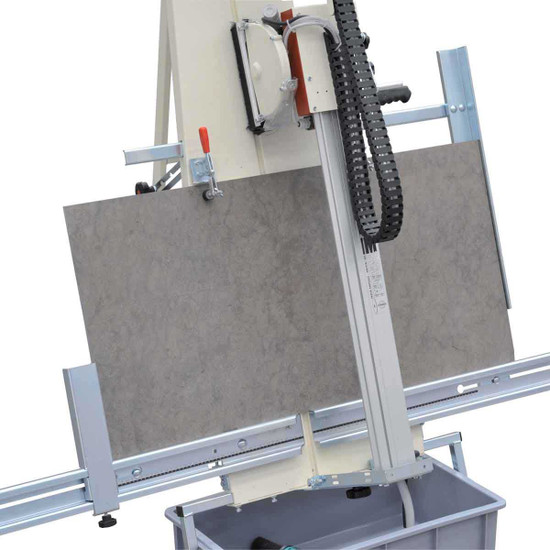 Raimondi LEM Vertical Stone Saw Cuts Stone