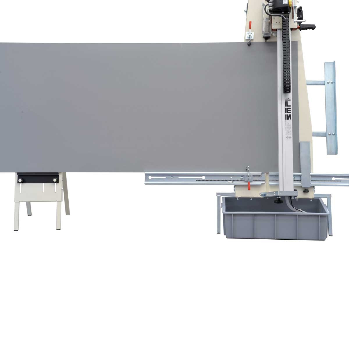 Vertical Concrete Saw Cutting Equipment : Raimondi lem vertical wet saw hand less cut contractors