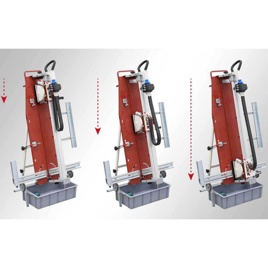 Raimondi LEM Vertical Wet Saw Diagram