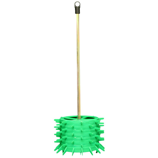 bucket brush for easy cleaning of residual mortar and grout from the mixing bucket. Simply add a few inches of water in the bottom of the bucket