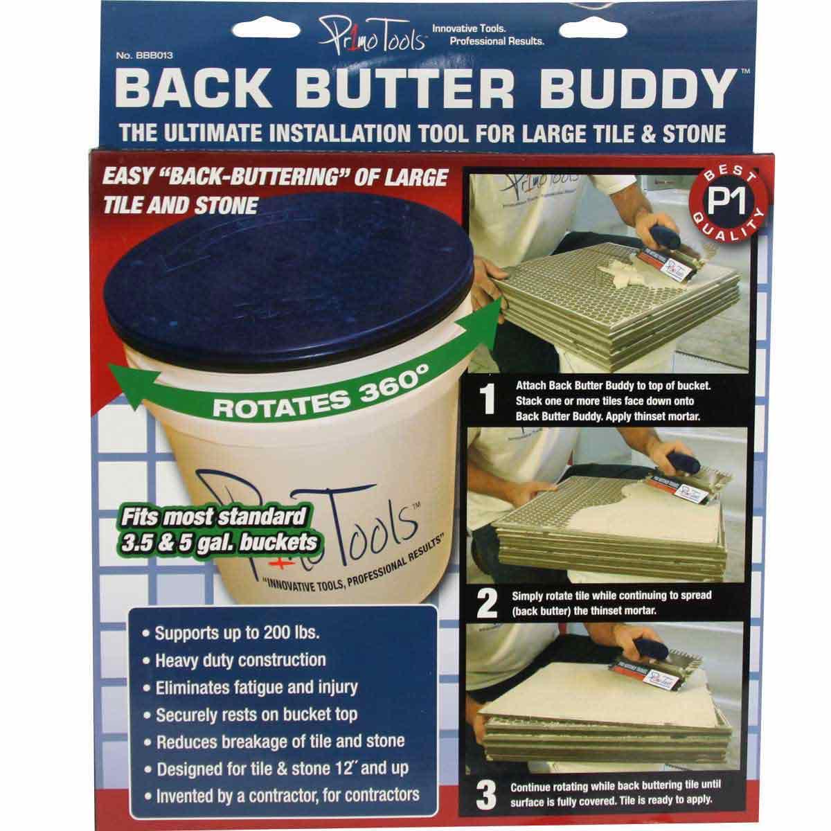 Back Butter Buddy instructions