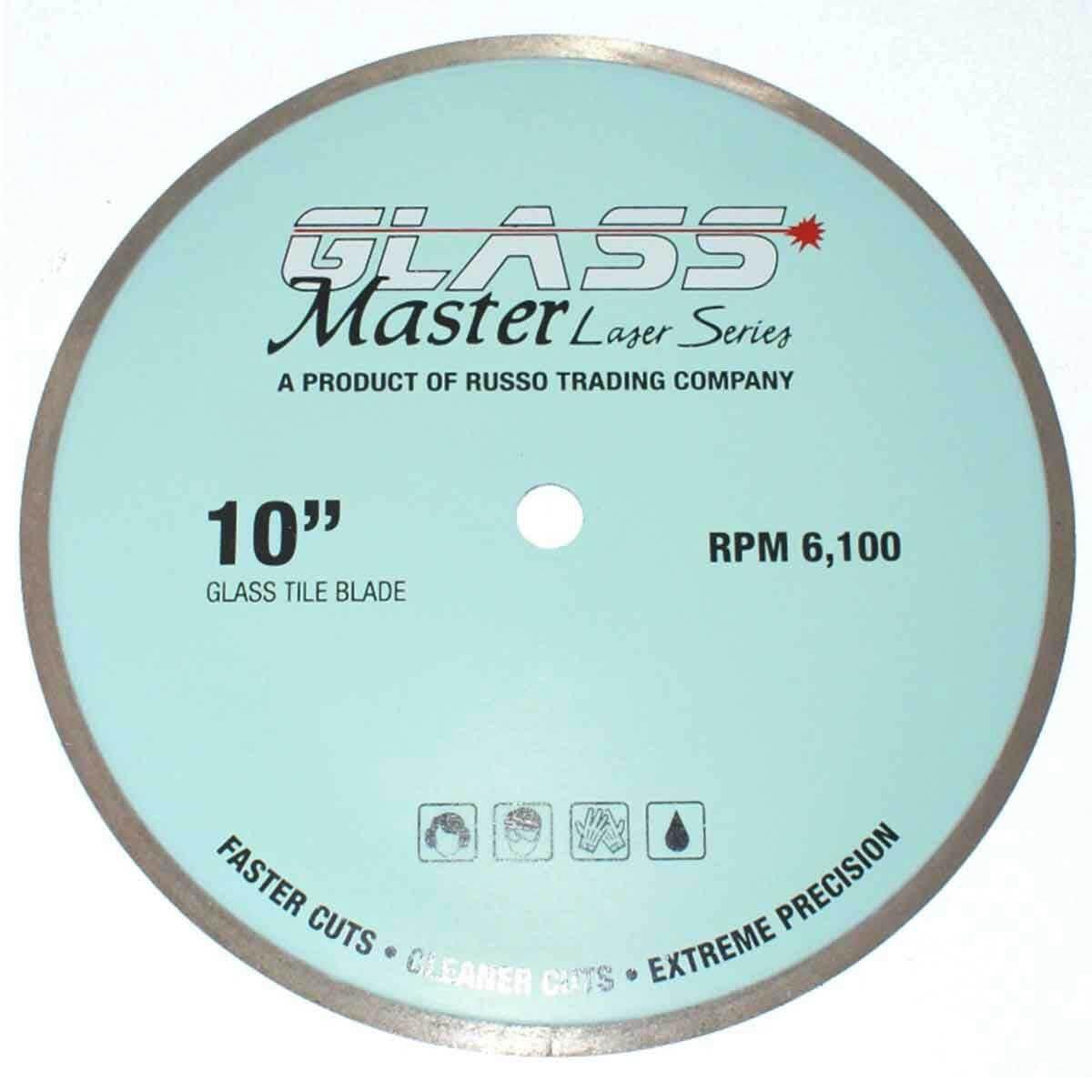 rtc glass master 10in diamond cutting