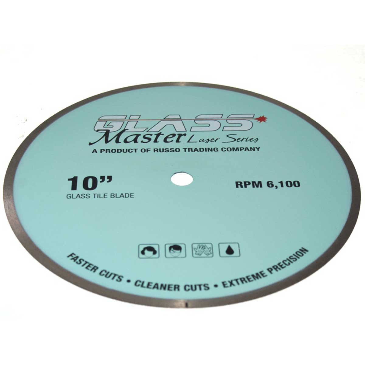 rtc glass master 10in diamond blade
