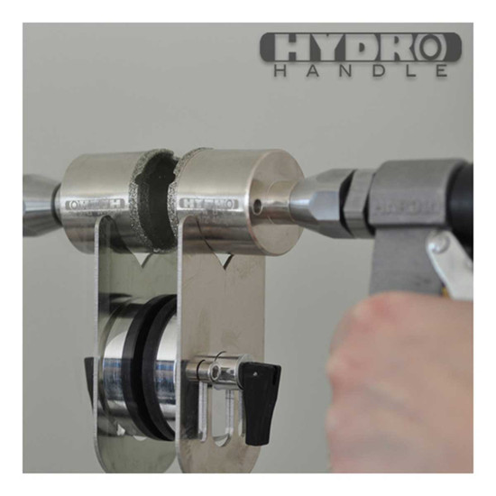 hhbit with hole saw guide